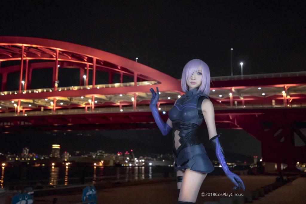 神戸大橋での撮影イメージ